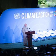 UN climate summit: 'Time for talks is over, world needs to act now,' says PM Narendra Modi