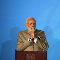 UN climate summit: India will invest $50 billion on water conservation, says PM Narendra Modi