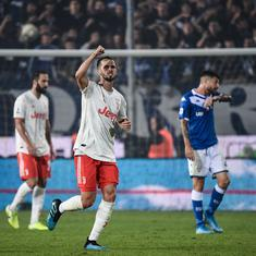 Football: Juventus recover from early goal to beat Brescia 2-1 and top Serie A table