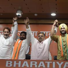 Olympic wrestler Yogeshwar Dutt, former hockey captain Sandeep Singh join BJP ahead of Haryana polls