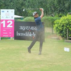 Golf round-up: Saqib cards 68 to lead by one stroke in Jaipur Open, Ajeetesh impresses in Japan
