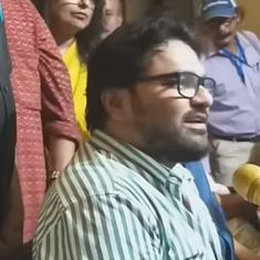 Watch: Union minister Babul Supriyo wrongly credits Ishwar Chandra Vidyasagar with abolishing Sati