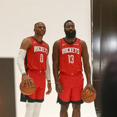 James Harden and Russell Westbrook open to playing for USA at 2020 Tokyo Olympics