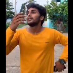 Watch: No one can stop watching Fun Bucket Bharghav's amazing TikTok videos with co-star Nithya