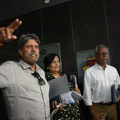 Now, conflict of interest notice sent to CAC's Kapil Dev, Shantha Rangaswamy and Anshuman Gaekwad