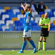 Serie A: Napoli return to winning ways with 2-1 win over Brescia, Fiorentina down AC Milan 3-1