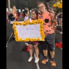 Watch: Students with Down Syndrome are winning hearts online with their homecoming dance proposal