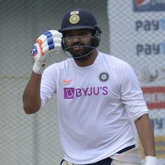 Rohit Sharma forced to leave training session ahead of Bangladesh T20I due to injury