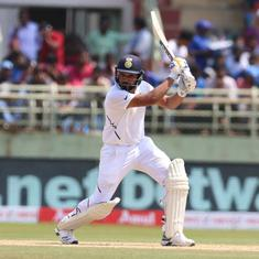 India vs South Africa, 1st Test: Rohit, Mayank's unbeaten stand puts hosts on top on rain-hit day