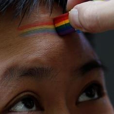 China has a Three No's policy on homosexuality: No approval, no disapproval and no promotion