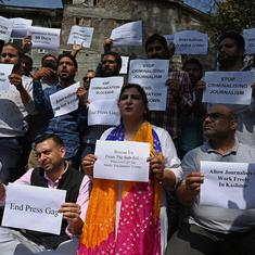 J&K lockdown: Journalists in Srinagar demand free access to internet, end of communication blockade