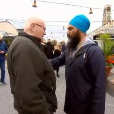 Watch: 'You should cut your turban off', Canadian man tells Sikh politician Jagmeet Singh