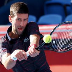 Novak Djokovic lifts Japan Open on debut, shrugging off injury concerns from US Open