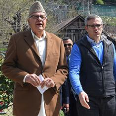 J&K: National Conference leaders meet Farooq, Omar Abdullah two months after their detention