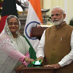 'India called NRC internal matter but we're keeping eyes open,' says Bangladesh after PMs' meeting
