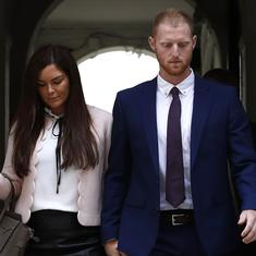 Unbelievable what these people will make up: Stokes' wife on reports of an altercation between them