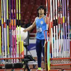 Athletics: Javelin thrower Neeraj Chopra confirmed as AFI's recommendation for Khel Ratna