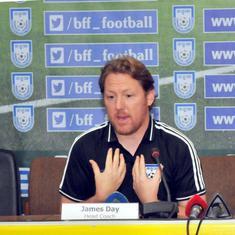 Football: India's draw against Qatar a big motivation for us, says Bangladesh coach James Day