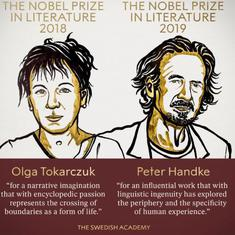 Nobel Prize in Literature awarded to Polish author Olga Tokarczuk and Austrian writer Peter Handke