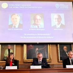 The Nobel Prize in Chemistry recognises the men who enabled laptops and mobile phones