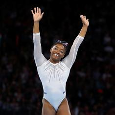 Gymnastics: Simone Biles clinches 16th title and fifth all-around gold at World Championships