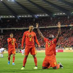 Belgium qualify for Euro 2020 after 9-0 victory over San Marino; Netherlands, Croatia win