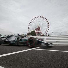 Formula One: Japan GP qualification postponed to Sunday amid typhoon threat, Mercedes set early pace