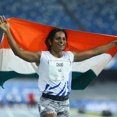 Coronavirus: India sprinter Dutee Chand distributes 1,000 food packets in her village amid lockdown