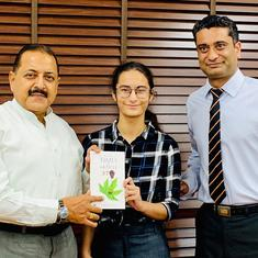 Fact check: Did a 14-year-old girl write a book about Article 370 as Jitendra Singh, ANI claimed?