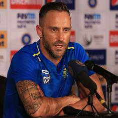 Full text: South Africa's Faf du Plessis steps down as captain from all formats