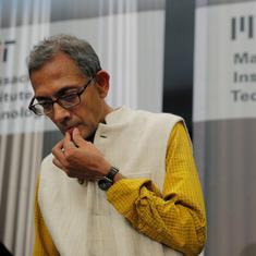 Economist Abhijit Banerjee says he probably would not have won the Nobel Prize if he was in India