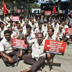 HAL workers' strike for wage hike enters second day, operations at all nine centres disrupted