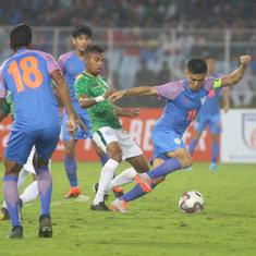Football: India drop to 106th spot in latest Fifa rankings after draw against Bangladesh