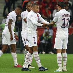 Football: Di Maria, Mbappe shine as PSG beat Nice 4-1 to consolidate top position in Ligue 1