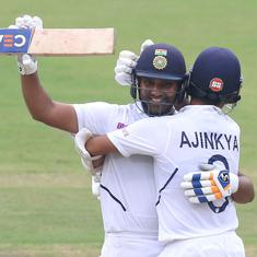 Ranchi Test: Rohit-Rahane counterattack helps India avoid potential banana skin in style