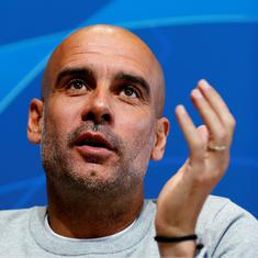Manchester City manager Pep Guardiola donates $1.08 million for coronavirus relief in Spain