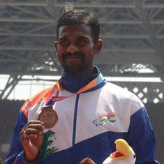 Para-athlete Gunasekaran wins third gold at World Military Games, Shivpal bags javelin title
