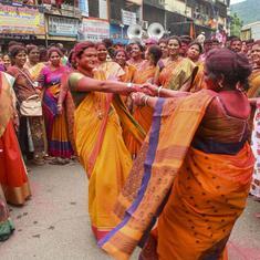 'Shiv Sena has more bargaining power now': Jubilant party workers celebrate Maharashtra poll results