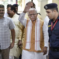 Haryana Assembly polls: BJP banks on Independents to form government, ML Khattar reaches Delhi