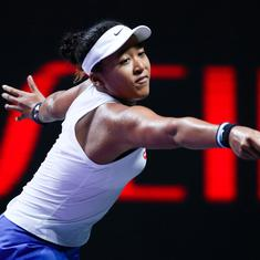 Tennis: Naomi Osaka battles past Petra Kvitova in three-set marathon at WTA finals