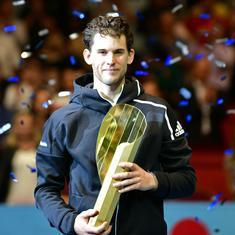 Tennis: Home favourite Dominic Thiem defeats Diego Schwartzman to win first title in Vienna