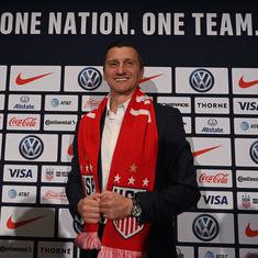 Vlatko Andonovski takes over from Jill Ellis as world champion US women's football team coach