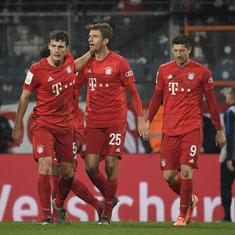 German Cup: Two late goals save defending champions Bayern Munich against second-tier Bochum