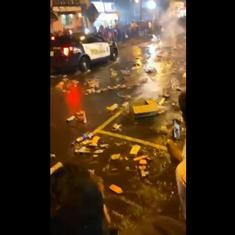 Watch: New Jersey's 'Indian Street' was littered with waste after Diwali celebrations in the area