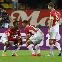Football: Marseille knocked out of French League Cup after shock 1-2 loss against Monaco