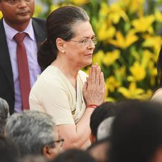 Sonia Gandhi accuses Centre of 'final assault' on RTI Act, a week after amendments come into force