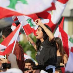 'Hunger has no religion': Defying sectarian divides, the Lebanese are protesting together