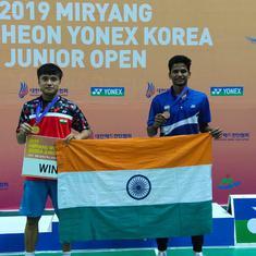 Badminton: Meiraba Luwang wins boys' singles title at Korea Junior Open, Sathish K claims bronze
