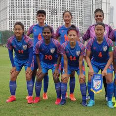 Football: Sandhiya, Ratanbala Devi score braces as India trounce Sri Lanka 6-0 at South Asian Games
