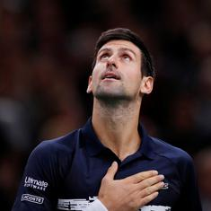 Tennis: I couldn't be happier with this win, says Novak Djokovic after clinching Paris Masters title
